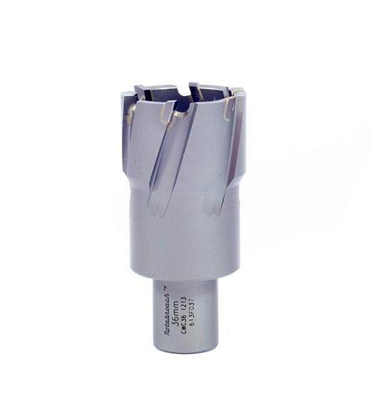 Корончатое сверло с напаянными твердосплавными пластинами – глубина сверления 30 мм, характеристики, обзор.