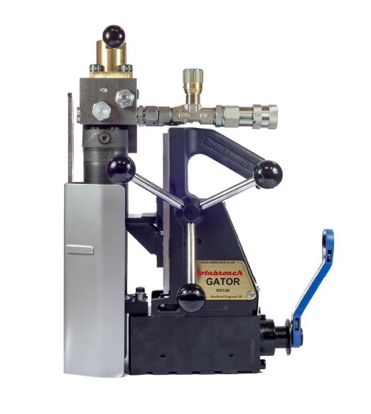 Магнитный сверлильный станок Rotabroach GATOR МСС-52Г, характеристики, обзор.
