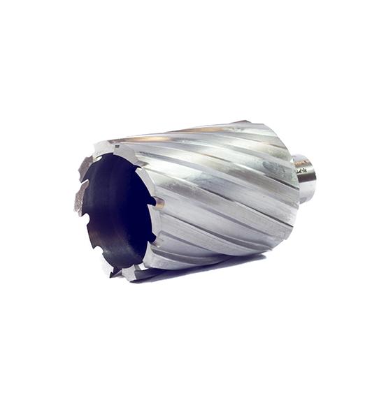Корончатое сверло из быстрорежущей стали HSS – глубина сверления 50 мм, характеристики, обзор.