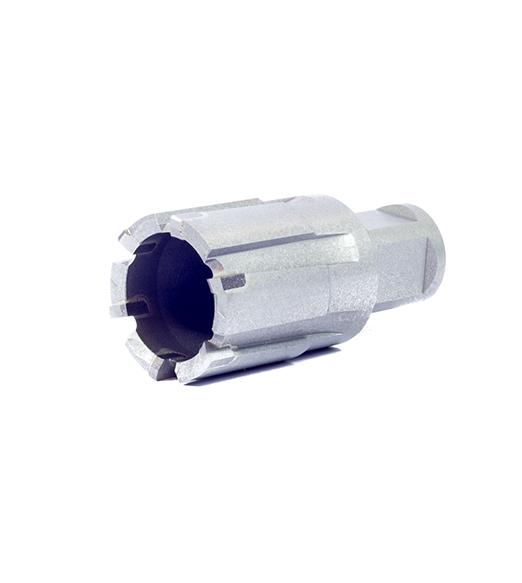 Рельсовые корончатые сверла с напаянными твердосплавными пластинами ТСТ – глубина сверления 50 мм, характеристики, обзор.